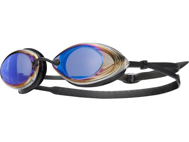 TYR Tracer Racing Mirrored Svømmebriller Herrer sort